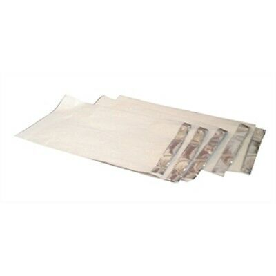 """500x Foil Lined Food Bag 7x9x8"""" DELI CATERING NAAN BAGS HOT FOODS TAKEAWAY(1814)"""