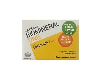 2 nuovo BIOMINERAL ONE PLUS lactocapil 30 compresse