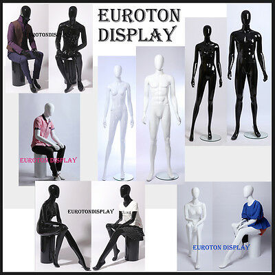 EurotonDisplay Shine abstract Display Dummy Mannequin female male