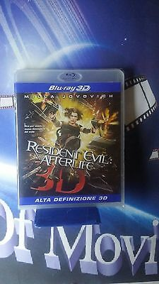 resident evil - afterlife 3d *BLU RAY *NUOVO