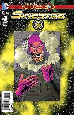 Sinestro Futures End #1 (2014) Standard Cover 1St Printing