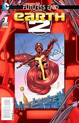 Earth 2 Futures End #1 3D Motion Cover 1St Printing Bagged & Boarded