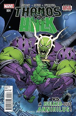 Thanos Vs Hulk #4  (Of 4 ) (2015) 1St Printing Bagged &  Boarded