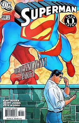 Superman  #650 (2006) 1St Printing  Near Mint Bagged & Boarded Up, Up, And Away!