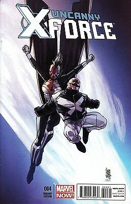 Uncanny X-Force #4 (2013) Scarce 1:50 Camuncoli Variant Cover Bagged & Boarded