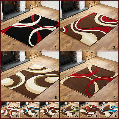 Small Medium BROWN Black MULTI Hand Carved  HIGH QUALITY 12MM  DISCOUNT Rugs