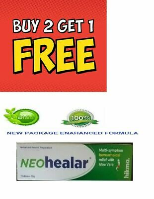 Neo Healar 100% Natural & Proven Hemorrhoids Cure, Treatment & Relief - Ointment