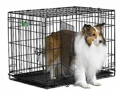 Midwest iCrate Pet Crates Crate Double Door 30-Inch w/Divider NEW