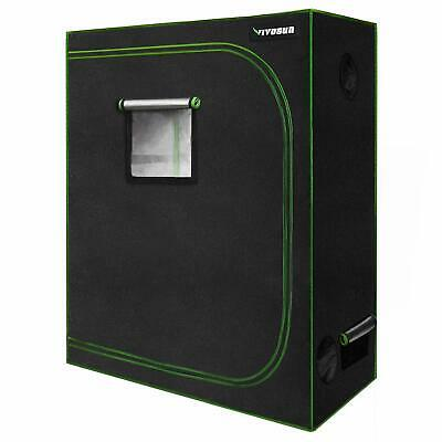 "VIVOSUN 48""x24""x60"" Mylar Hydroponic Grow Tent Room for Indoor Plant Growing 2x4"