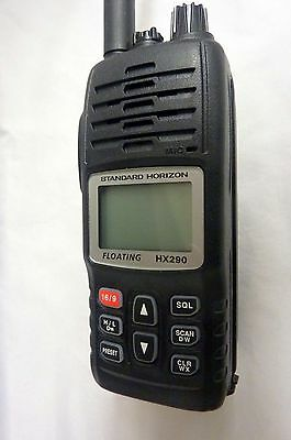 Standard Horizon Floating Marine Transceiver & Charger Excellent Cond.   3396-1