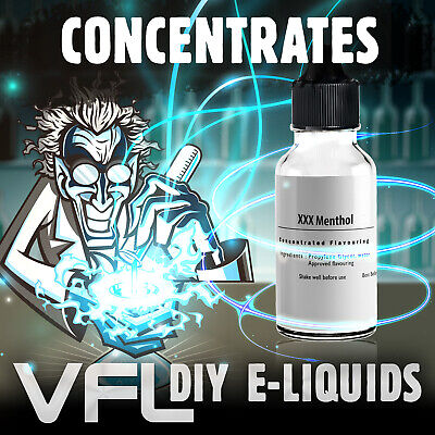 Extra Strong Menthol E liquid Concentrate For DIY VAPE JUICE 10ml 30ml 60ml 0mg