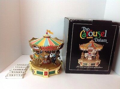 The Carousel Dream A Visual And Musical Masterpiece Enesco 1983 W/ Extra Lights