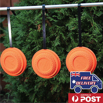 GlowShot Clay Pigeon Target Hangers, use Clay targets as rifle or pistol targets