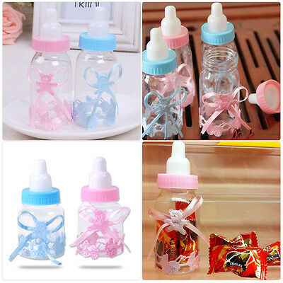 12PCS Baby Shower Favor Box Baptism Birthday Party Candy Boxes Christening Uskt