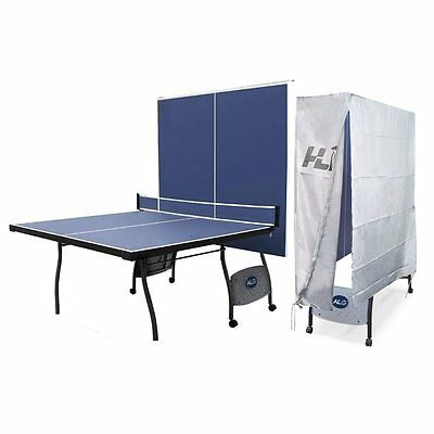 Full Size Table Tennis Table with Net With Waterproof Folding Cover ,Best Gift