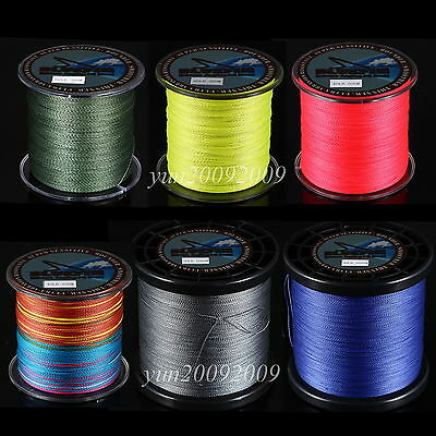 300-1000M Dyneema Spectra Imported Braided Sea Fishing Line 8-100LB Super Strong