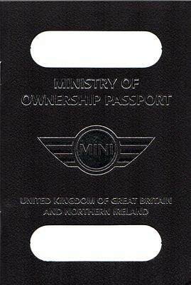 Mini Unused Ministry Of Ownership Passport Early 2000s