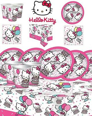 Hello Kitty Birthday Party Supplies Complete Kits For 8 16 24 32 Guests
