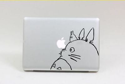 """Totoro Apple Macbook Air/Pro 13"""" Removable Vinyl Sticker Skin Decal Cover"""
