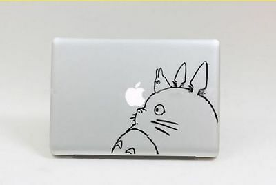 "Totoro Totoro Apple Macbook Air/Pro 13"" Removable Vinyl Sticker Skin Decal Cover"