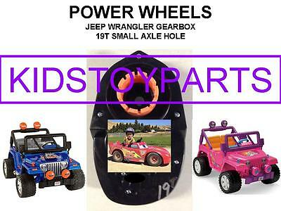 Pair Of 19T Power Wheels Jeep Wrangler And Barbie Jeep Gearboxes Gen 3 Upgrade