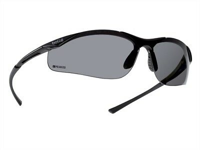 Bolle Contour Scratch Resistant and Anti-Static Safety Glasses - Polarised