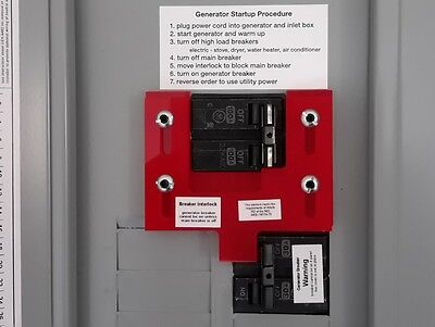 GE-7 Generator Interlock Kit for General Electric Breaker Panel