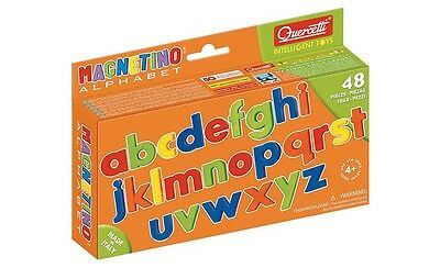 Quercetti Lowercase Letters Magnetic Pk48 Literacy Learning Education Kids