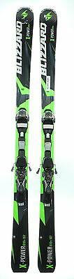Used 2015 Blizzard X-Power 810 Ti Snow Ski with Marker TP 12 Binding C