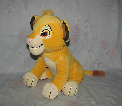 "Disney/Kohl's Cares Young Simba Plush From Lion King - Sitting, 12"" Tall"