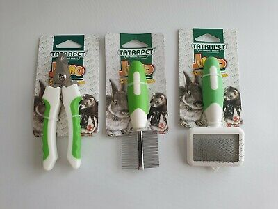 Hamster Rabbit Chinchilla Ferret Care Bath Hygiene Comb Brush Pliers Rodents Rat
