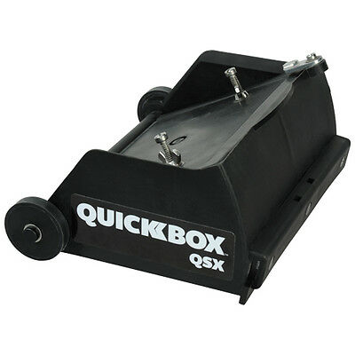 TapeTech QuickBox QSX 6.5in Finishing Box for Hot Mud *NEW* - FREE T-Shirt