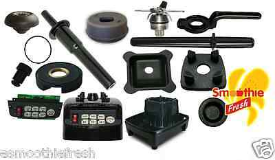 JTC OMNIBLEND SPARE PARTS : Inc. Drive Socket, Blades, Wrench, Sound Enclosure