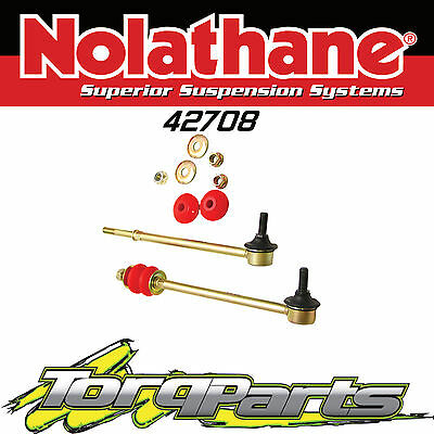 Nolathane Front Sway Bar Link Suit Vx Vy Vz Commodore Ss Hsv Wk Wl 42708