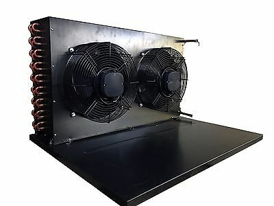 "New Condenser With Fans & Base for 3 HP Condensing Unit 33.5""L X 25.5""D X 18.5""H"