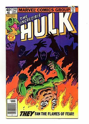 Incredible Hulk Vol 1 No 240 Oct 1979 (VFN+) Marvel, Bronze Age (1970 - 1979)