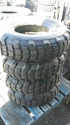 Set of 4 Michelin XL 9.00 R16 on Clearance
