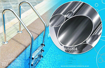 New Outdoor Swimming Pools 5 Step Ladder in Ground Stainless Steel Pool Ladder