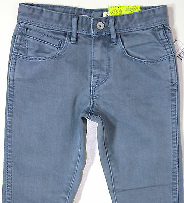 VOLCOM - Boy's Blue Stretch Skinny Leg Denim Jeans. Size 4 - 8. NWT. RRP $69.99.
