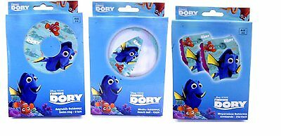 FINDING DORY Inflatable Swim Ring Armbands Beach Ball Pool Nemo Summer Holidays