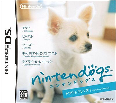 USED Nintendogs - Chihuahua   Friends Japan Import Nintendo DS