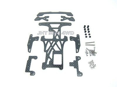HG Carbon Reinforced Exclusive Underplate for Tamiya Super FM & FM chassis