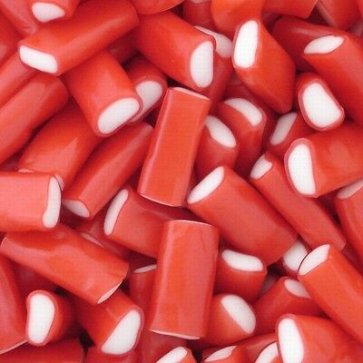 Mini Strawberry Pencils - Retro Sweets Party Wedding Candy Buffet Pick n Mix