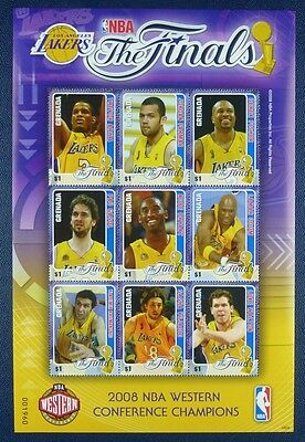 GRENADA 2008 Basketball NBA Sport 6060-6068 ** MNH