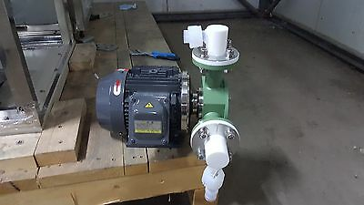 TOSHIBA Nikuni 32UCP-L22ZU2 Ultra Clean Purified Liquid Turbine Pump