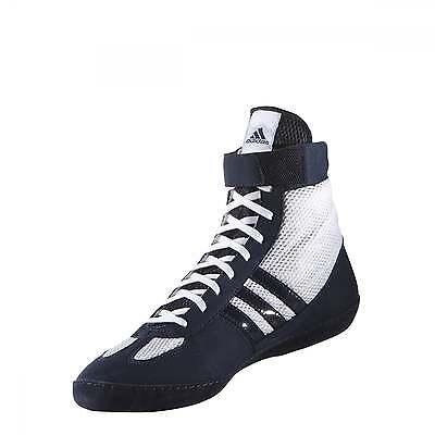 Adidas Combat Speed 4 Boxing Boots Wrestling Adults Kids - Navy White