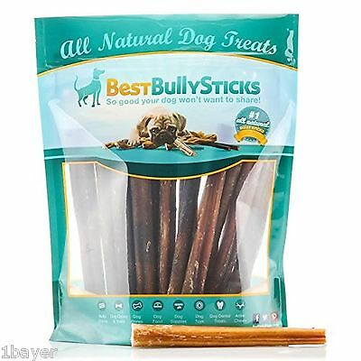 USA 6-inch Odor-Free Bully Sticks by Best Bully Sticks (18 Pack) Made in USA