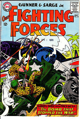 DC Comics OUR FIGHTING FORCES 1965 #92 VG/VG+ detailed pics