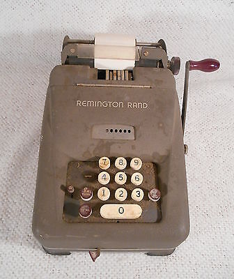 Antique ? Vintage ? Remington Rand Adding / Bookkeeping Machine - Calculator