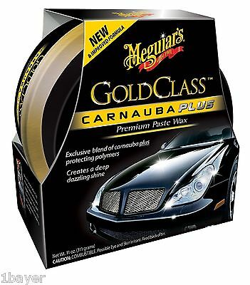 Meguiar's G7014JC Gold Class Carnauba Plus Premium Paste Wax